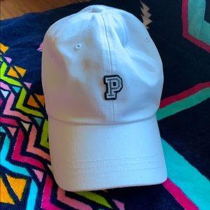 Pink VS hat